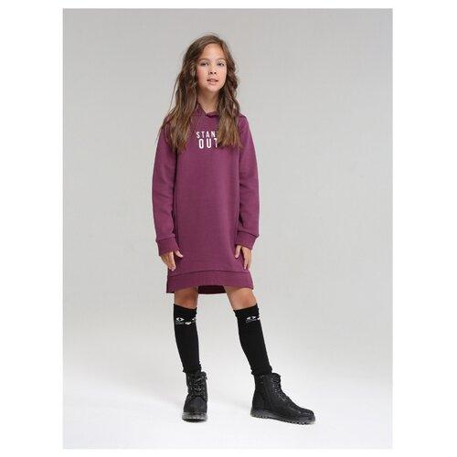 Купить Платье Fox размер 128, бордовый, Платья и сарафаны