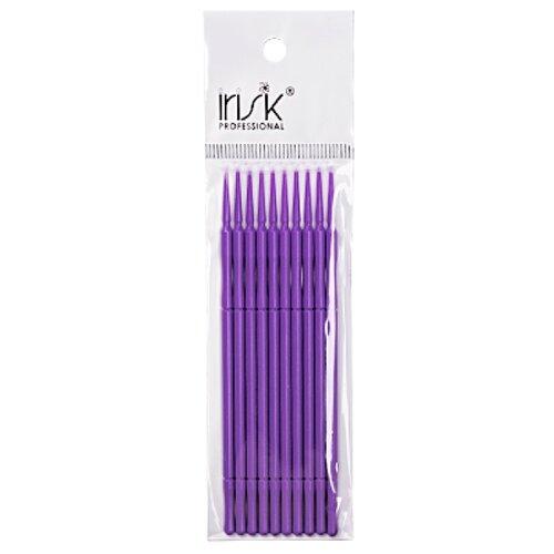 Irisk Professional Микрощеточки в пакете, S, 10 шт. фиолетовый