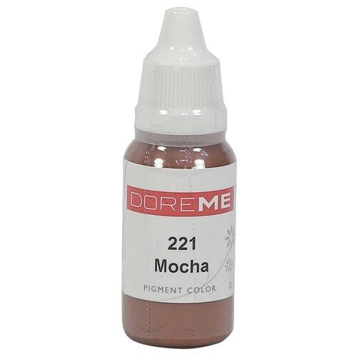Пигмент для микропигментирования Doreme для бровей, 15 мл. 221 Mocha недорого