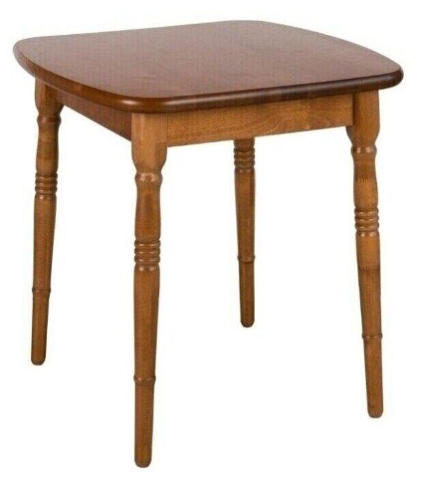 """Купить Стол прямоугольный из массива дерева """"Комплимент"""" (70 х 72 см), орех, Экомебель по низкой цене с доставкой из Яндекс.Маркета (бывший Беру)"""