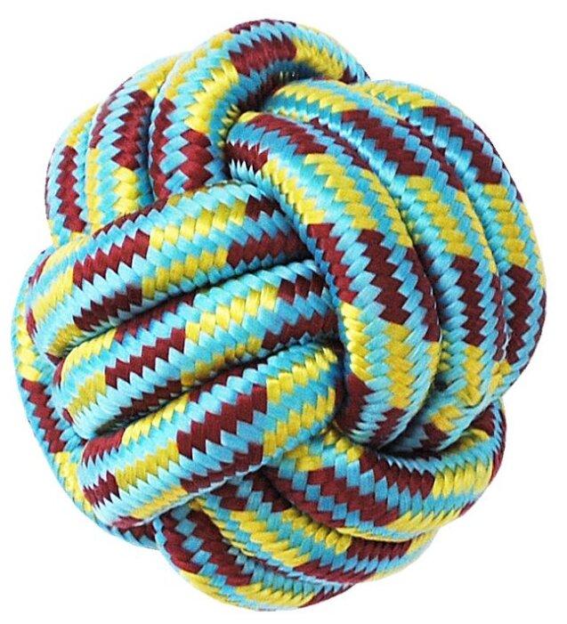 Мячик для собак Киспис веревочный для укрепления зубов (103015)