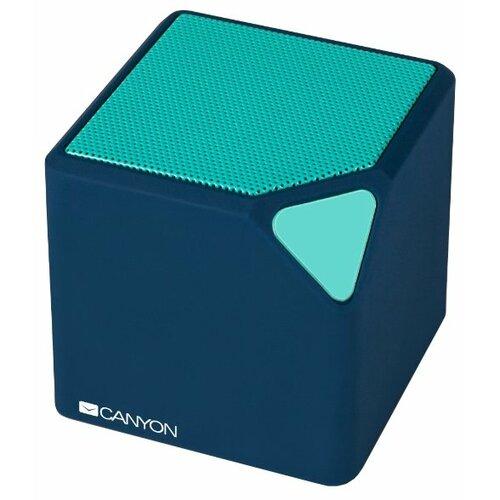 Портативная акустика Canyon CNS-CBTSP2 синий портативная акустика canyon cne cbtsp6 black