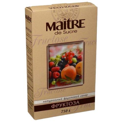 Maitre фруктоза порошок 750 г 1 шт.