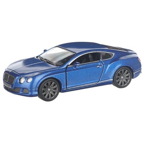 Купить Детская инерционная металлическая машинка с открывающимися дверями, модель 2012 Bentley Continental GT, синий, Serinity Toys, Машинки и техника