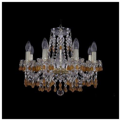 Люстра Bohemia Ivele Crystal 1410 1410/8/160/G/V1003, E14, 320 Вт бра bohemia ivele 1402b 2 160 g m701