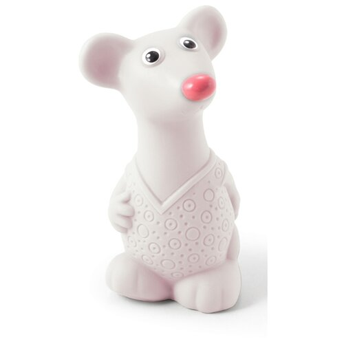 Фото - Игрушка для ванной ОГОНЁК Мышонок белый игрушка для ванной огонёк лось