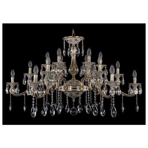 Люстра Bohemia Ivele Crystal 1709 1709/18/410/A/GW, E14, 720 Вт бра bohemia ivele crystal 1610 1610 3 gw