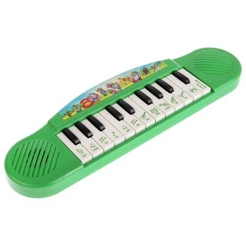 Купить Умка пианино B1371790-R16 зеленый, Детские музыкальные инструменты