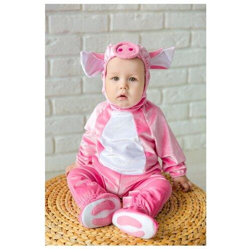 Костюм Baby-suit Поросенок (DK48.1), розово-белый, размер 74