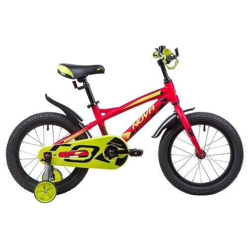 Фото - Детский велосипед Novatrack Tornado 16 (2019) оранжевый (требует финальной сборки) детский велосипед novatrack urban 16 2019 синий требует финальной сборки