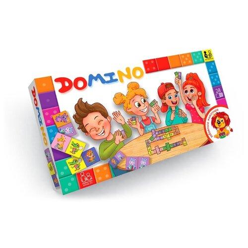 Настольная игра Danko Toys Домино. Забавные животные