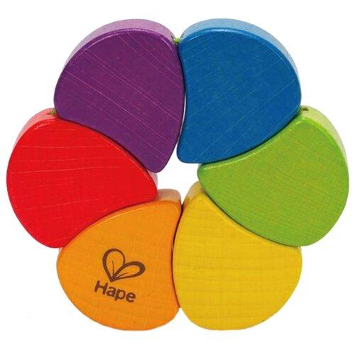 Фото - Погремушка Hape Радуга разноцветный деревянные игрушки hape погремушка радуга