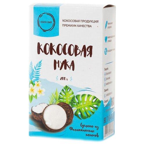 Мука COCO DAY кокосовая бережной обработки, 0.2 кг