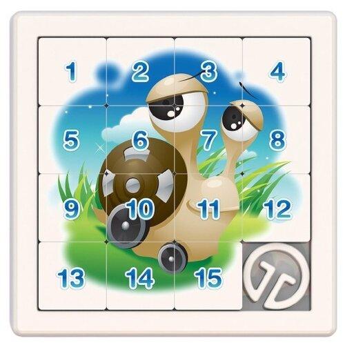 860 Логическая игра Собирашки (Улитка) нордпласт игра логическая собирашки смешарики крош 834