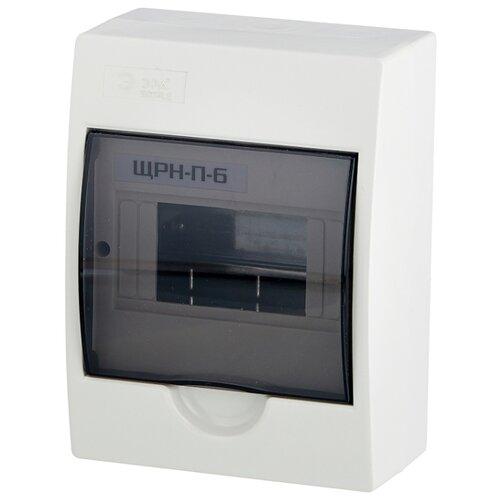 Щит распределительный ЭРА Simple ЩРН-П-6 навесной, пластик, модулей 6 белый