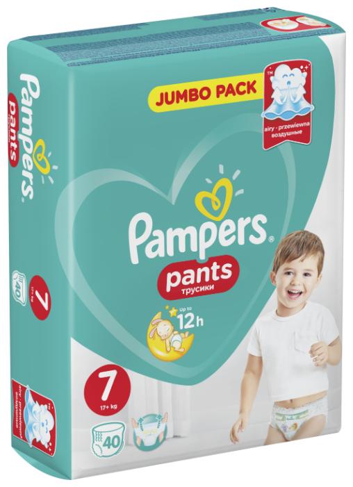 Pampers трусики Pants 7 (17+ кг) 40 шт.