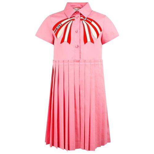 Платье GUCCI размер 128, розовый