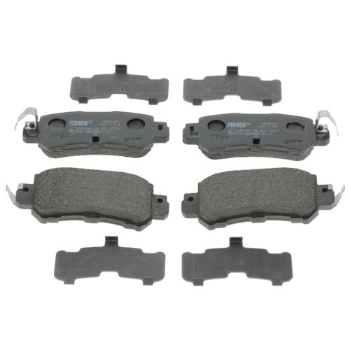Фото - Дисковые тормозные колодки задние Ferodo FDB4892 для Mazda CX-5 (4 шт.) дисковые тормозные колодки передние ferodo fdb4446 для mazda 3 mazda cx 3 4 шт