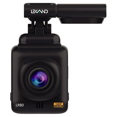 Фото - Видеорегистратор LEXAND LR80, GPS, черный lexand lr75