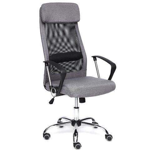 Компьютерное кресло TetChair Profit офисное, обивка: текстиль, цвет: серый/черный кресло офисное tetchair leader 207 серый