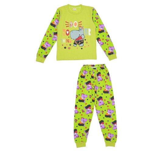 Купить Пижама MisterBanana размер 128-134, салатовый, Домашняя одежда