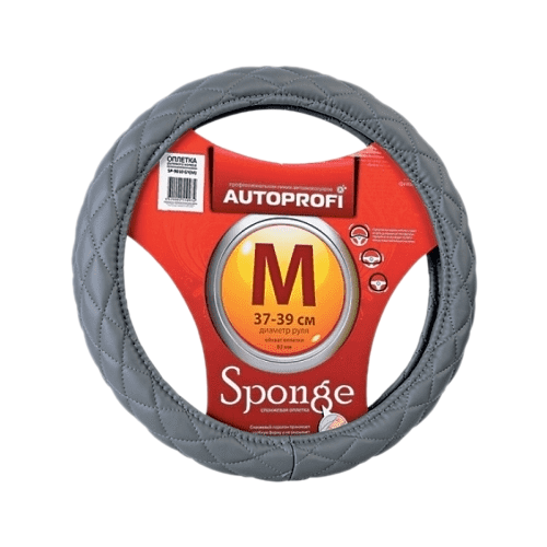 Оплетка/чехол AUTOPROFI SP-9010 GY (M) серый оплетка autoprofi ap 810 d gy gy be m