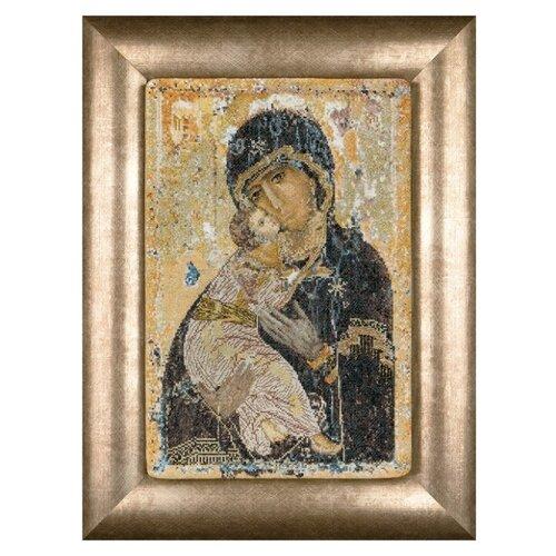 Thea Gouverneur Набор для вышивания Владимирская икона Божией Матери 22 х 33,5 см (531А) thea gouverneur набор для вышивания санкт петербург 50 х 79 см 430а