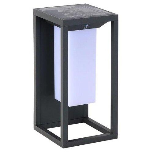 светильник horoz 021 005 0001 spectrum HOROZ ELECTRIC Уличный светильник на солнечных батареях Solaris-1 078 014 0001, 2 Вт, цвет арматуры: черный, цвет плафона белый