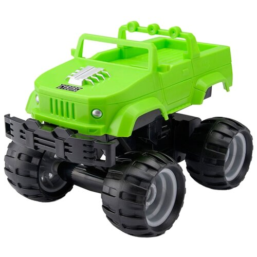 Купить Монстр-трак Toyrific Monster Smash Ups (TY6082x) зеленый, Радиоуправляемые игрушки
