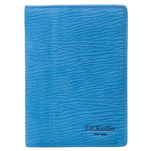 Обложка для паспорта Dr.Koffer X510130-164-70, голубой