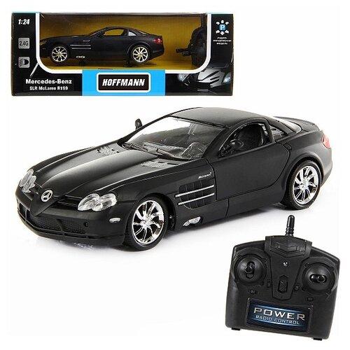цена на Легковой автомобиль Hoffmann Mercedes-Benz SLR McLaren R199 (82685) 1:24 29.5 см черный