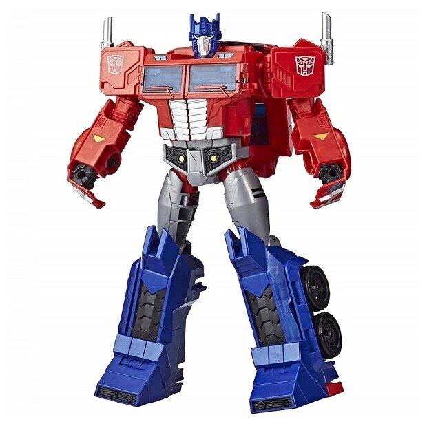 Трансформер Hasbro Transformers Оптимус Прайм. Ultimate Class (Кибервселенная) E2067