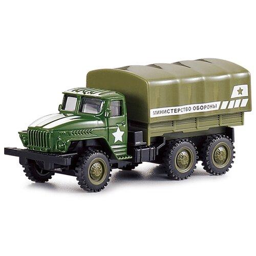 Фургон Kaiyu gruzovik/ast1501190 12 см зеленый, Машинки и техника  - купить со скидкой