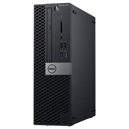 цена на Настольный компьютер DELL Optiplex 5070 SFF (5070-4821) Slim-Desktop/Intel Core i7-9700/8 ГБ/512 ГБ SSD/Intel UHD Graphics 630/Windows 10 Pro черный