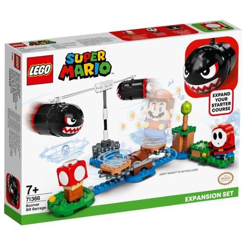 Купить Конструктор LEGO Super Mario 71366 Дополнительный набор Огневой налёт Билла-банзай, Конструкторы