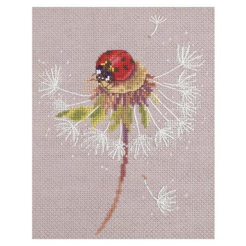 Фото - PANNA Набор для вышивания Мгновения лета. Божья коровка 20.5 х 16.5 см PS-7034 (ПС-7034) набор для вышивания panna ps 1615 осенний венок
