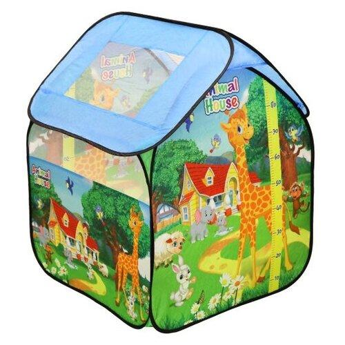 Купить Палатка игровая Наша Игрушка 85*82*105 см, сумка на молнии, Наша игрушка, Игровые домики и палатки