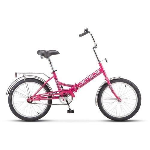 """Городской велосипед STELS Pilot 410 20 Z011 (2020) малиновый 13.5"""" (требует финальной сборки)"""