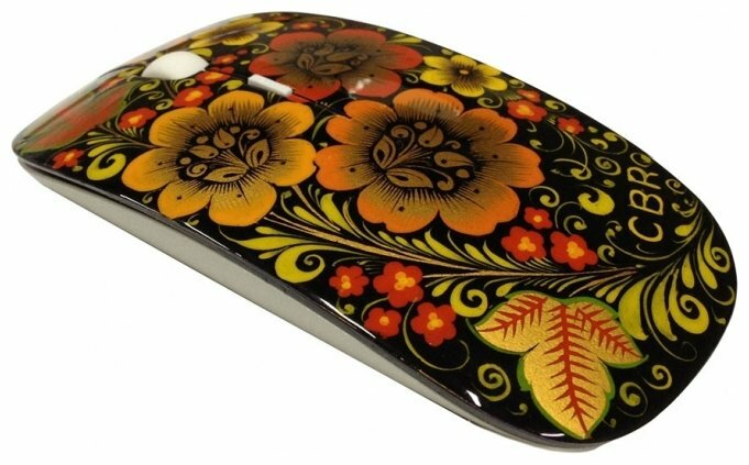 Мышь CBR CM 700 mouse Russian Soul Black-Yellow USB