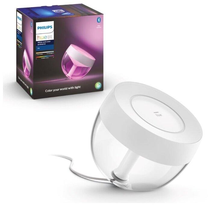 Настольная лампа Philips Hue Iris white, 8.1 Вт фото 1