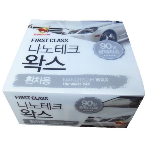 Воск для автомобиля Bullsone Nano Tech Wax для белых авто 0.3 кг