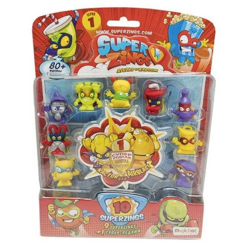 Купить Игровой набор Magicbox Toys SuperZings 7850, Игровые наборы и фигурки