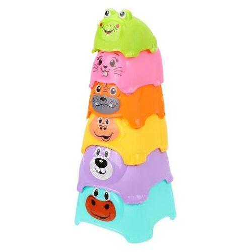 Пирамидка Наша игрушка Детская, 6 элементов недорого