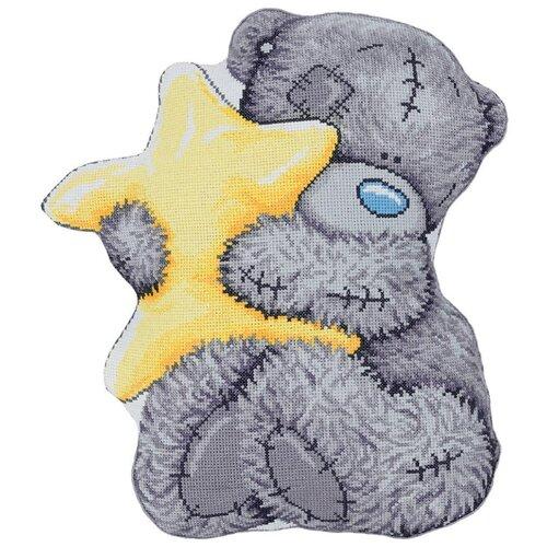 Купить PANNA Набор для вышивания Подушка.Tatty Teddy со звездочкой 36.5 х 41.5 см (MTY-7029), Наборы для вышивания
