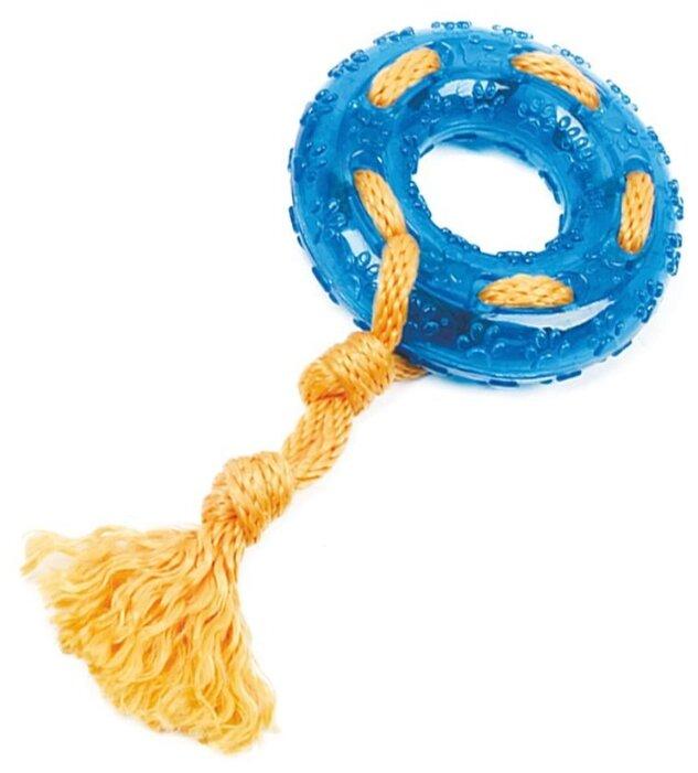 Кольцо для собак Грызлик Ам с веревкой Durable Rope Silent (30.GR.031)