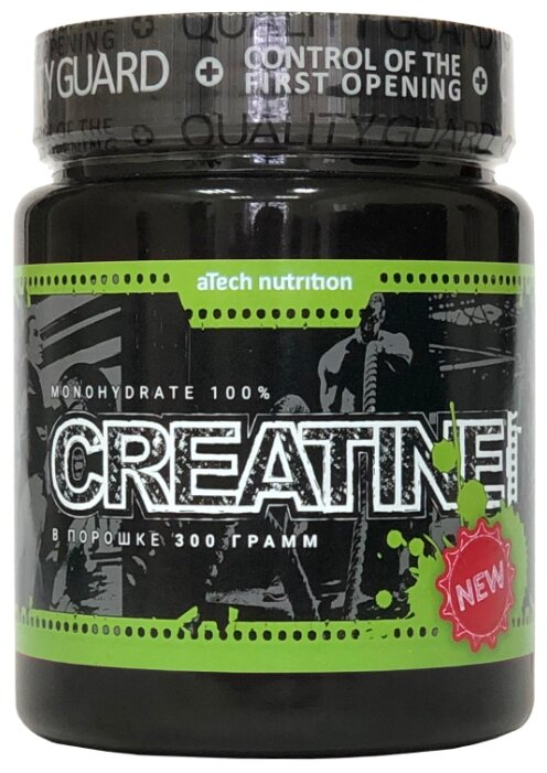 Креатин aTech Nutrition Creatine Monohydrate 100% 300 г банка