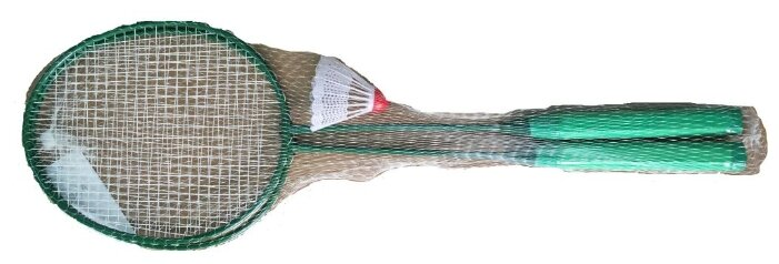 Набор ракеток для бадминтона 2шт (волан) ATEMI BAS-9