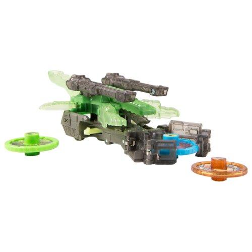 Интерактивная игрушка трансформер РОСМЭН Дикие Скричеры. Линейка 2. Крокшок (34827) черный/зеленый интерактивная игрушка трансформер росмэн дикие скричеры линейка 2 ти реккер 35867