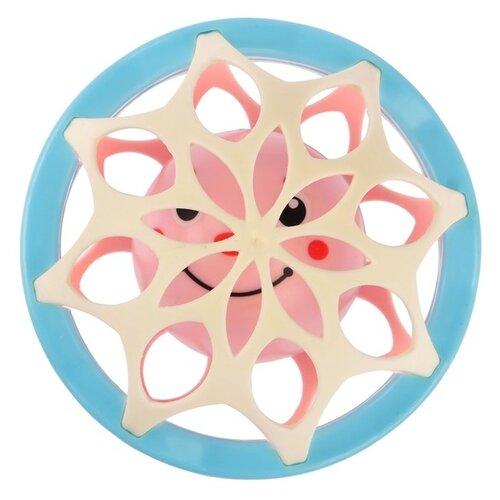 Купить Погремушка Крошка Я Неразбивайка Шар 2932045 с элементами силикона розовый / голубой, Погремушки и прорезыватели
