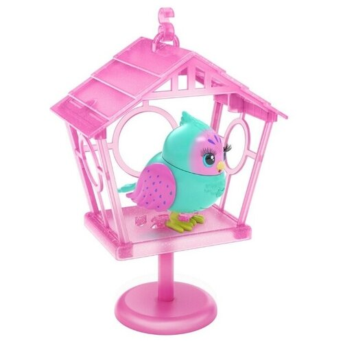 Купить Moose Little Live Pets Интерактивная птичка в скворечнике Твитти-Пеппи 26103, Роботы и трансформеры
